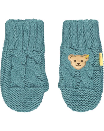 Steiff Fäustlinge Handschuhe FOREST FRIENDS adriatic blue 2023125-6045