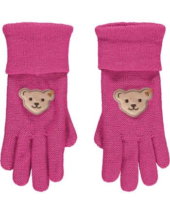 Steiff Gloves PONYFUL Mini Girls carmine 2022228-7046