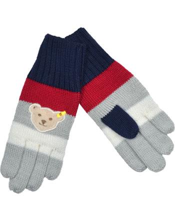 Steiff Fingerhandschuhe RED AND BLUE WINTER patriot blue 1921135-6033
