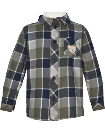 Steiff Shirt long sleeve INDI BEAR Mini Boys steiff navy 2022117-3032