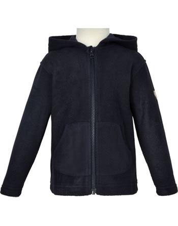 Steiff Fleece Jacket with hood BASIC steiff navy 0021109-3032