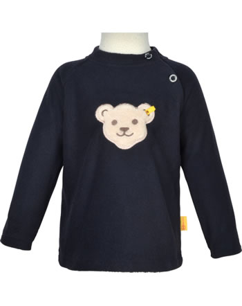 Steiff Fleece-Pullover mit Quietsche BASIC steiff navy 0021102-3032