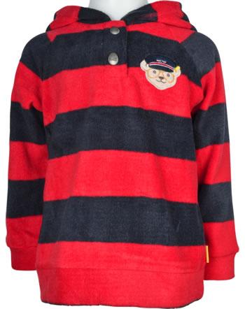 Steiff Fleece-Sweatshirt AIRPLANE Mini Boys blue ribbon 2122128-6067