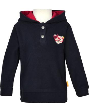 Steiff Sweat-shirt polaire BEAR TO SCHOOL steiff navy 2021220-3032