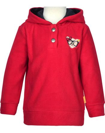 Steiff Sweat-shirt polaire BEAR TO SCHOOL tango red 2021220-4008