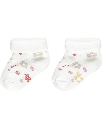 Steiff Baby socks Teddy GOTS cloud dancer 2111608-1001
