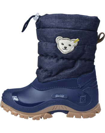 Steff Winterboots ERICA jeans/blue