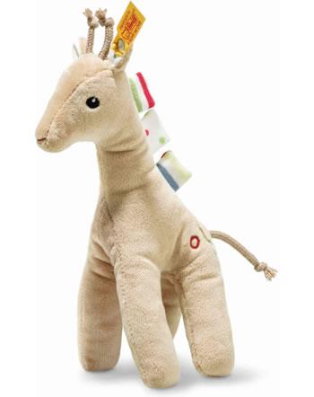 Steiff Giraffe Tula mit Quietsche 20 cm beige 242083