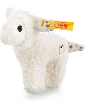Steiff Greifling Mini Knister-Lamm mit Rassel weiß 240676
