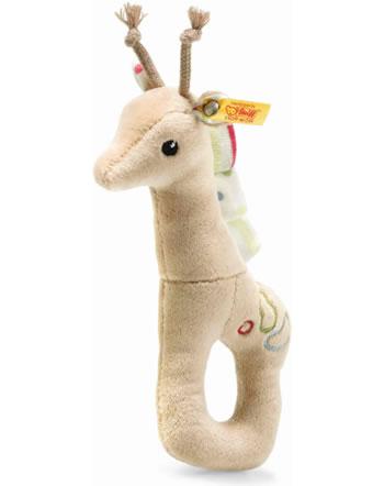 Steiff Anneau de préhension Girafe Tula 17 cm beige 241741