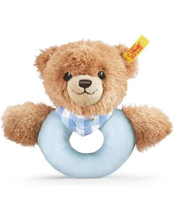 Steiff Jouet de préhension/crécelle de Dormez bien ours 12 cm bleu 239601