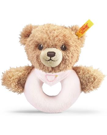 Steiff Jouet de préhension de Dormez bien ours 12 cm rosé 239557