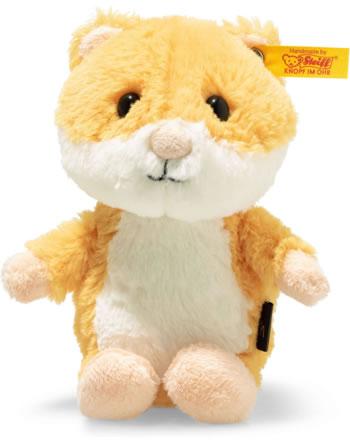 Steiff Hamster Happy 14 cm goldgelb/weiß 073816