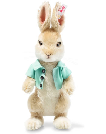 Steiff Hase Cottontail Bunny 26 cm Mohair blond stehend 355615