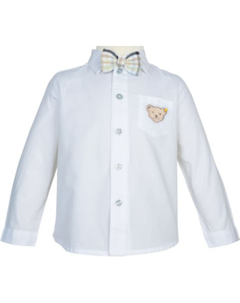 Steiff Shirt long sleeve SPECIAL DAY bright white 2014303-1000