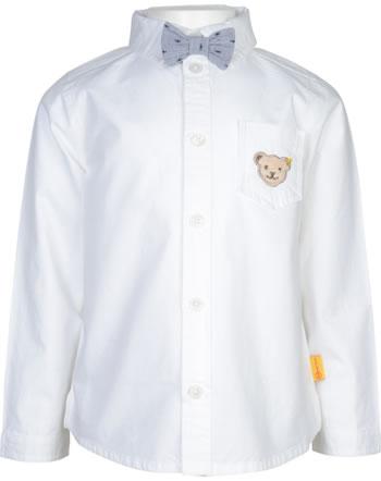 Steiff Hemd mit Fliege Langarm SPECIAL DAY Mini Boys bright white 2124105-1000