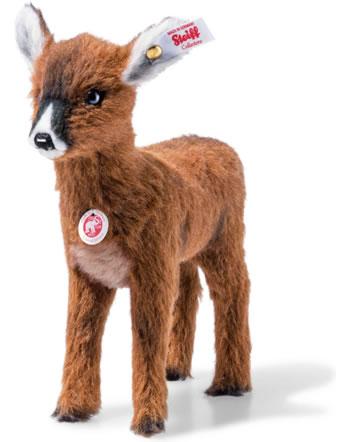 Steiff Biche Hinda 22 cm alpaca rousse debout 006807