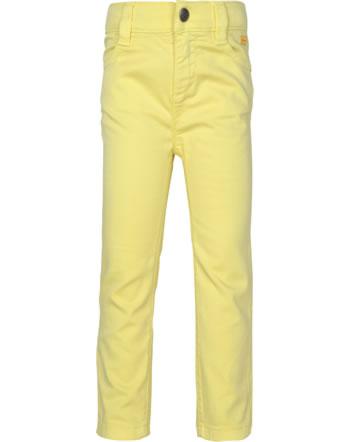 Steiff Trousers HELLO SUMMER Mini Girls yellow cream 2113206-2005