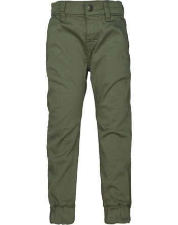 Steiff Trousers INDI BEAR Mini Boys dusty olive 2022121-5020