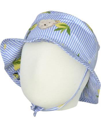 Steiff Hut HELLO SUMMER Baby Girls brunnera blue 2113422-6043