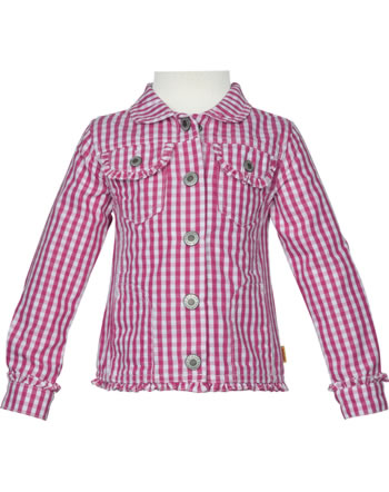 Steiff Jacket WILDFLOWERS Mini Girl with collar check 6913119-0002