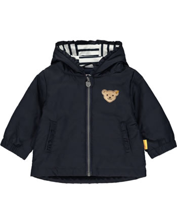 Steiff Jacket with hood AHOI BABY steiff navy 2012209-3032