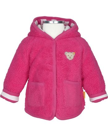 Steiff Jacket with hood BEAR IN MY HEART fruit dove 2011146-2203
