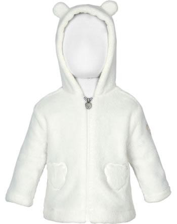 Steiff Jacket Fleece hooded WILDBERRY cloud dancer 1921426-1001