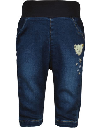 Steiff Jeans pants FAIRYTALE Baby Girls mood indigo 2023430-6049