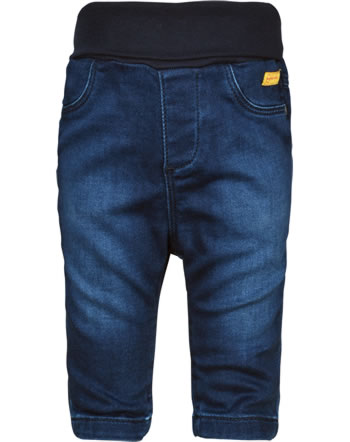 Steiff Jeans pants FOREST FRIENDS Baby Boys mood indigo 2023316-6049