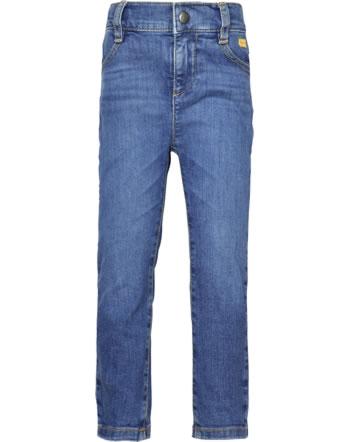 Steiff Jeans pants HELLO SUMMER Mini Girls blue indigo 2113209-6050
