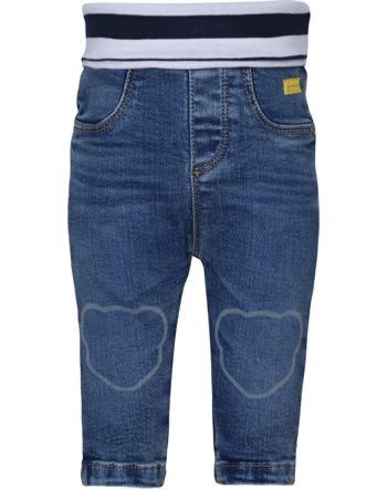 Steiff Jeans pants BEAR TO SCHOOL blue indigo 2021309-6050
