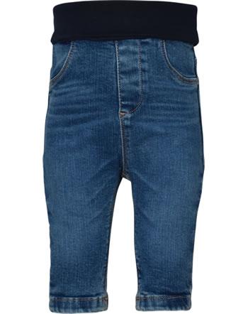 Steiff Jeanshose mit Bund INDI BEAR Baby Boys blue indigo 2022316-6050