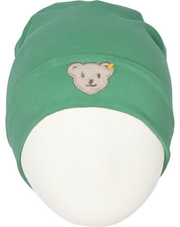 Steiff Jersey-Mütze HIGH FIVE Mini Boys winter green 2023110-3032