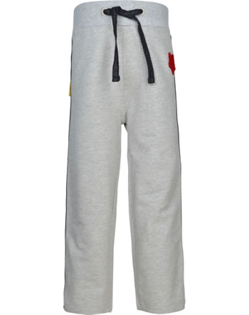 Steiff Pants BEAR TO SCHOOL soft grey melange 2021221-9007