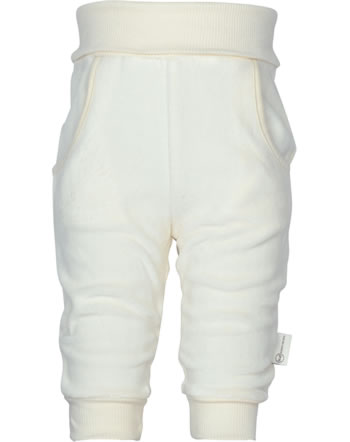 Steiff Pantalons WINTER WELLNESS GOTS cloud dancer 1922310-1001
