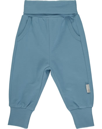 Steiff Jogger Pants BABY UNISEX ORGANIC adriatic blue 2012319-6045