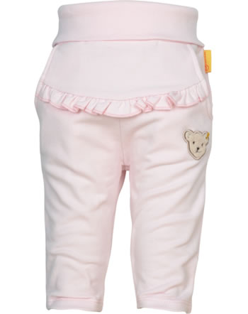 Steiff Jogger pants BEAR AND CHERRY barely pink 2013216-2560