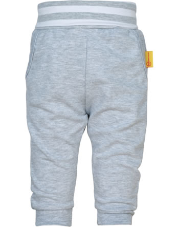 Steiff Jogger pants BEAR TO SCHOOL soft grey melange 2021308-9007
