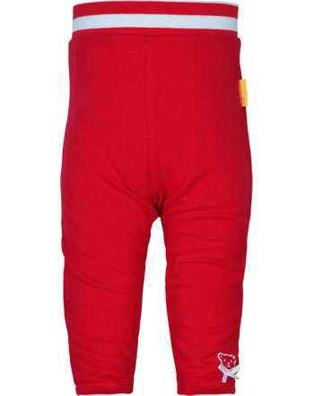 Steiff Jogger pants BEAR TO SCHOOL tango red 2021420-4008