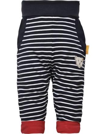 Steiff Jogger pants FISH AND SHIP Baby Boys steiff navy 2112308-3032