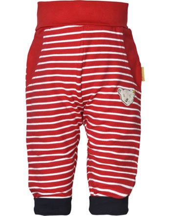 Steiff Jogginghose FISH AND SHIP Baby Boys true red 2112308-4015