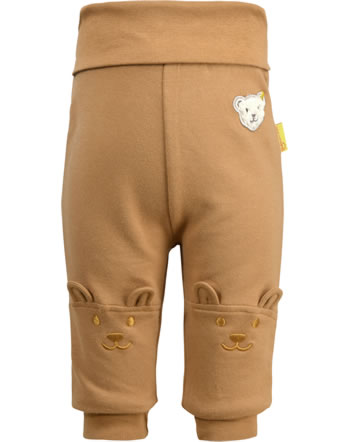 Steiff Jogger pants FOREST FRIENDS Baby Boys cashew 2023319-8011