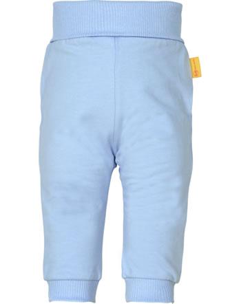 Steiff Jogger pants HELLO SUMMER Baby Girls brunnera blue 2113416-6043