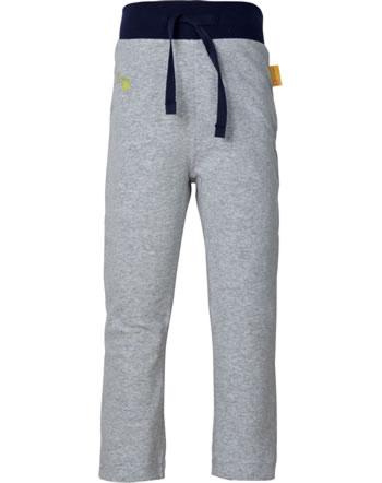 Steiff Jogger pants HELLO SUMMER Mini Boys soft grey melange 2113103-9007