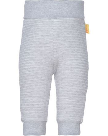 Steiff Jogger pants HIGH FIVE Baby Boys soft grey melange 2111315-9007
