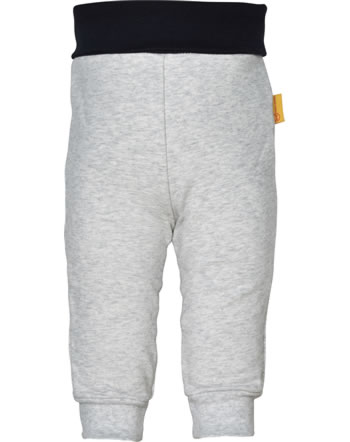 Steiff Jogger pants INDI BEAR Baby Boys soft grey melange 2022319-9007