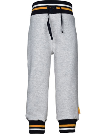 Steiff Jogger pants INDI BEAR Mini Boys soft grey melange 2022122-9007