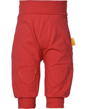 Steiff Jogger pants MARINE AIR Baby Girls true red 2112410-4015