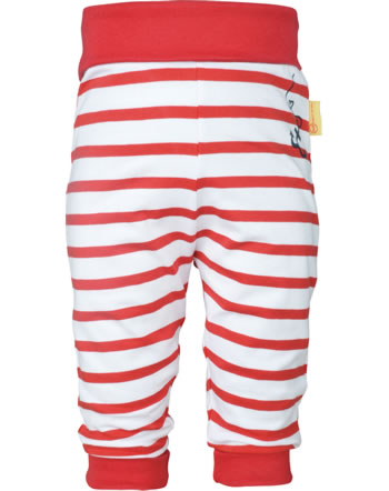 Steiff Jogger pants MARINE AIR Baby Girls true red 2112413-4015